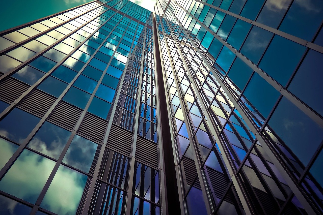 architecture, skyscraper, glass facades